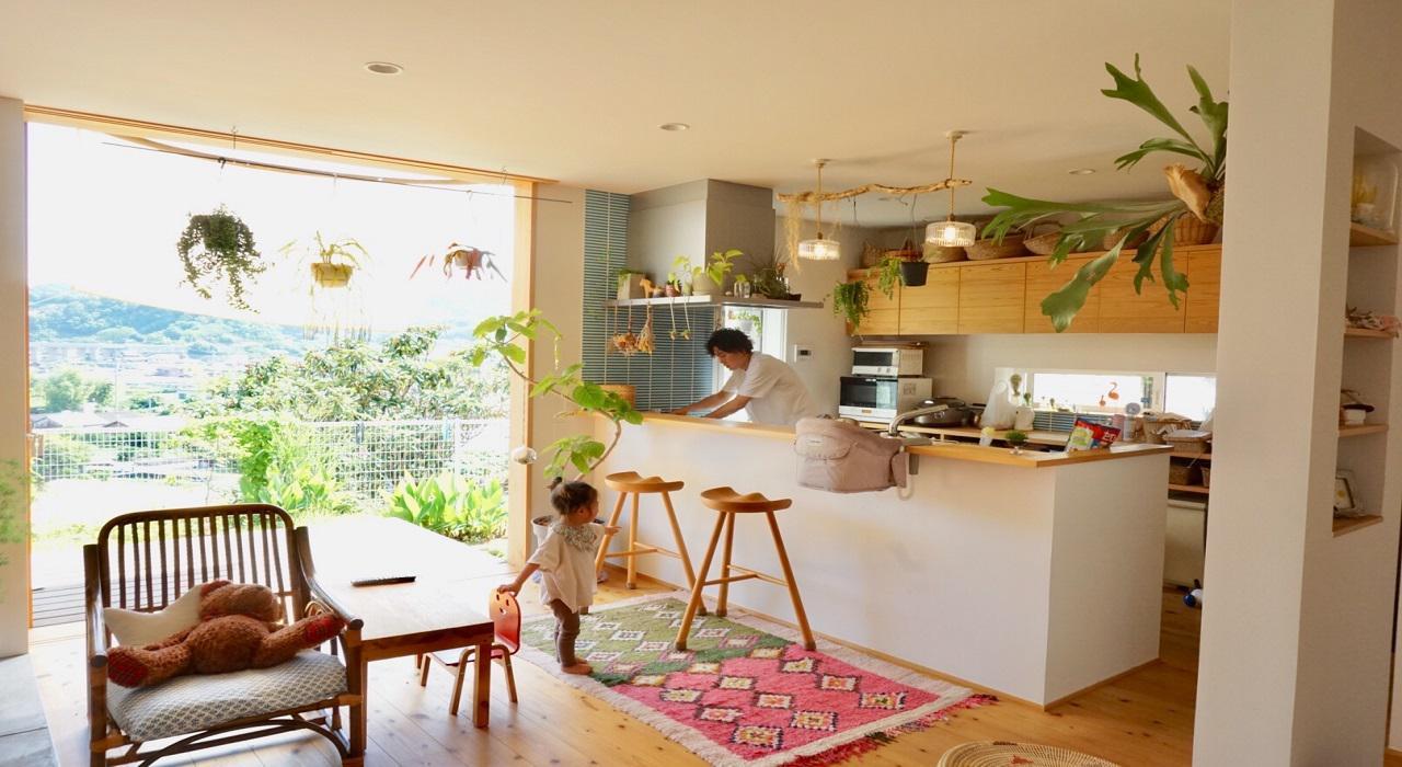 人の動きを考えた、動きやすい!住みやすい!家 リノベーション