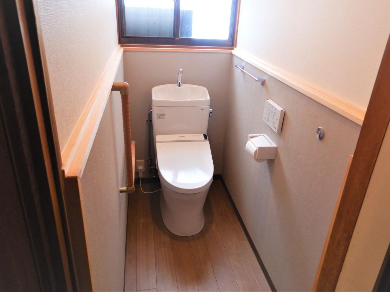 トイレ・床・壁リフォームで快適に!