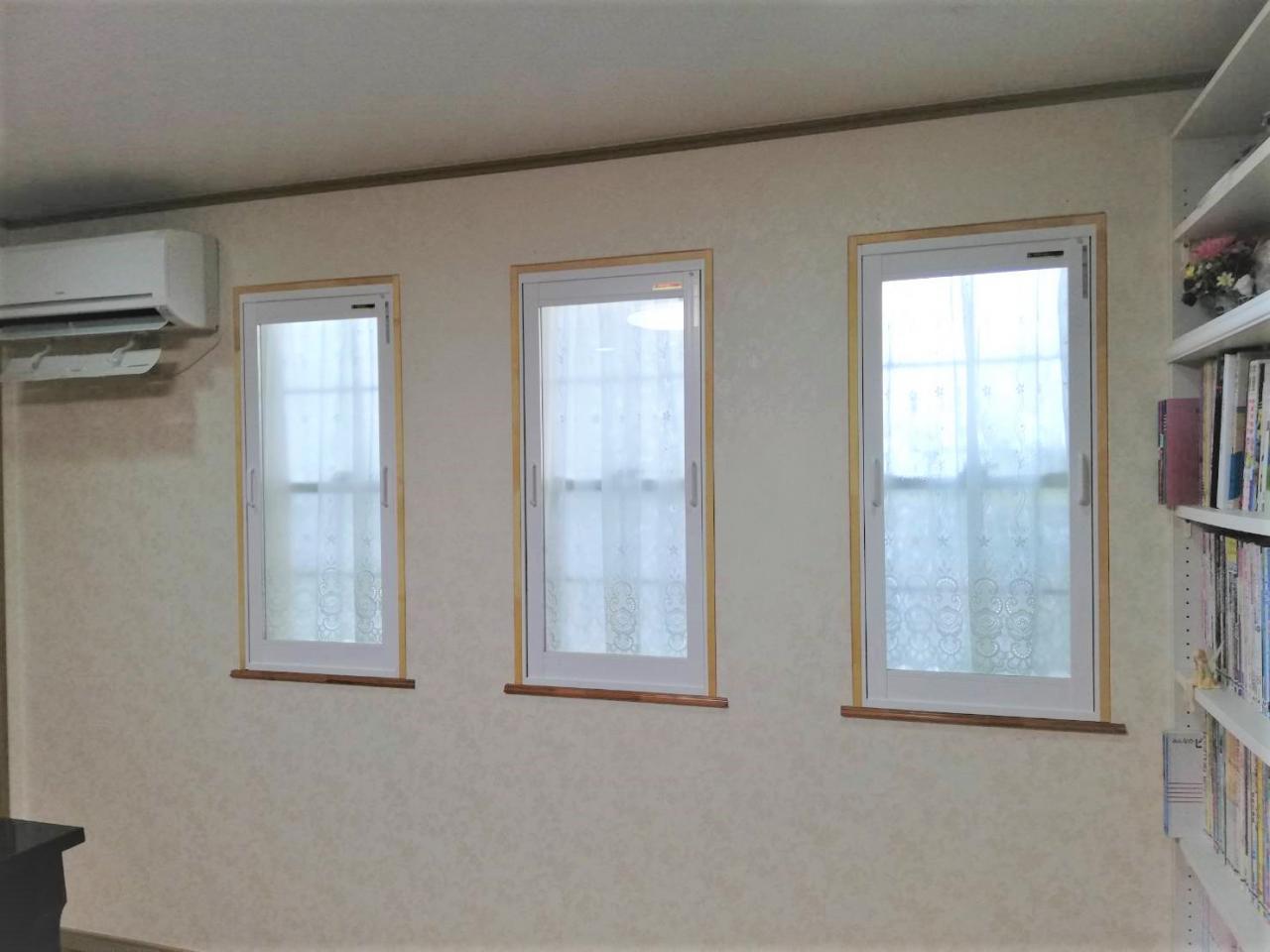 防音・断熱を高めた内窓設置